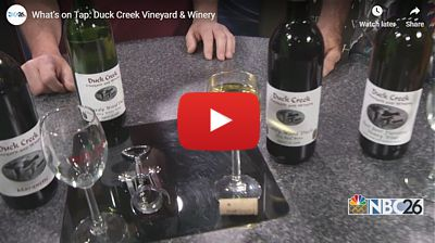 What's on Tap: Duck Creek Vineyard & Winery