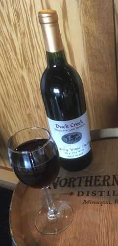 Bourbon Barrel Aged Cabbywood Duck (Cabernet Sauvignon)